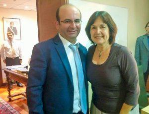Quilodran reunión Ministra Salud