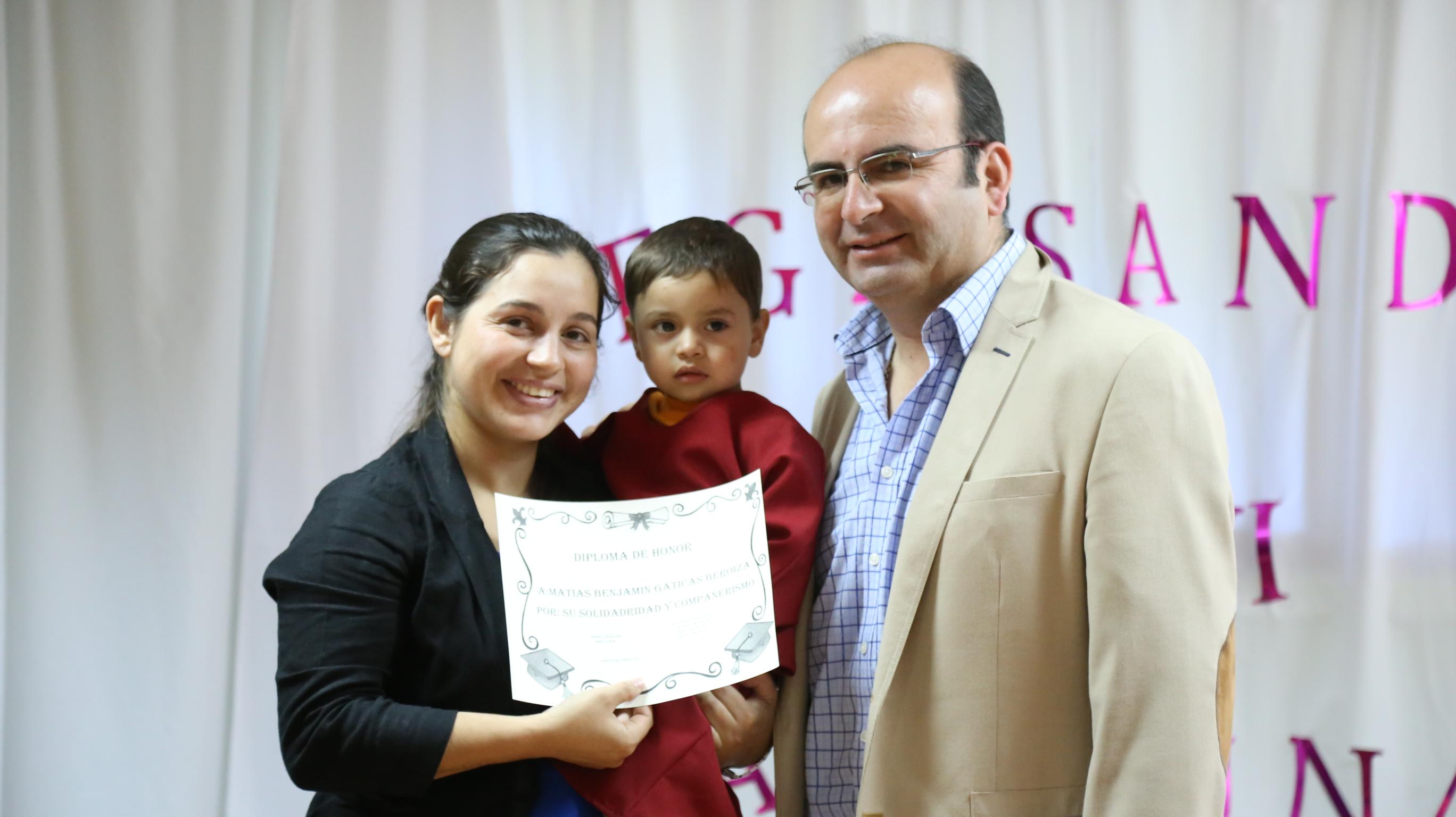 Sala Cuna Sonrisa de Ángeles de Las Canteras celebró su ceremonia de egreso.