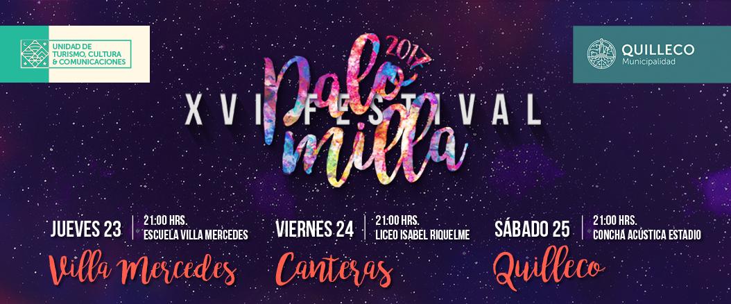 Bases para competencia XVI Festival Palomilla 2017