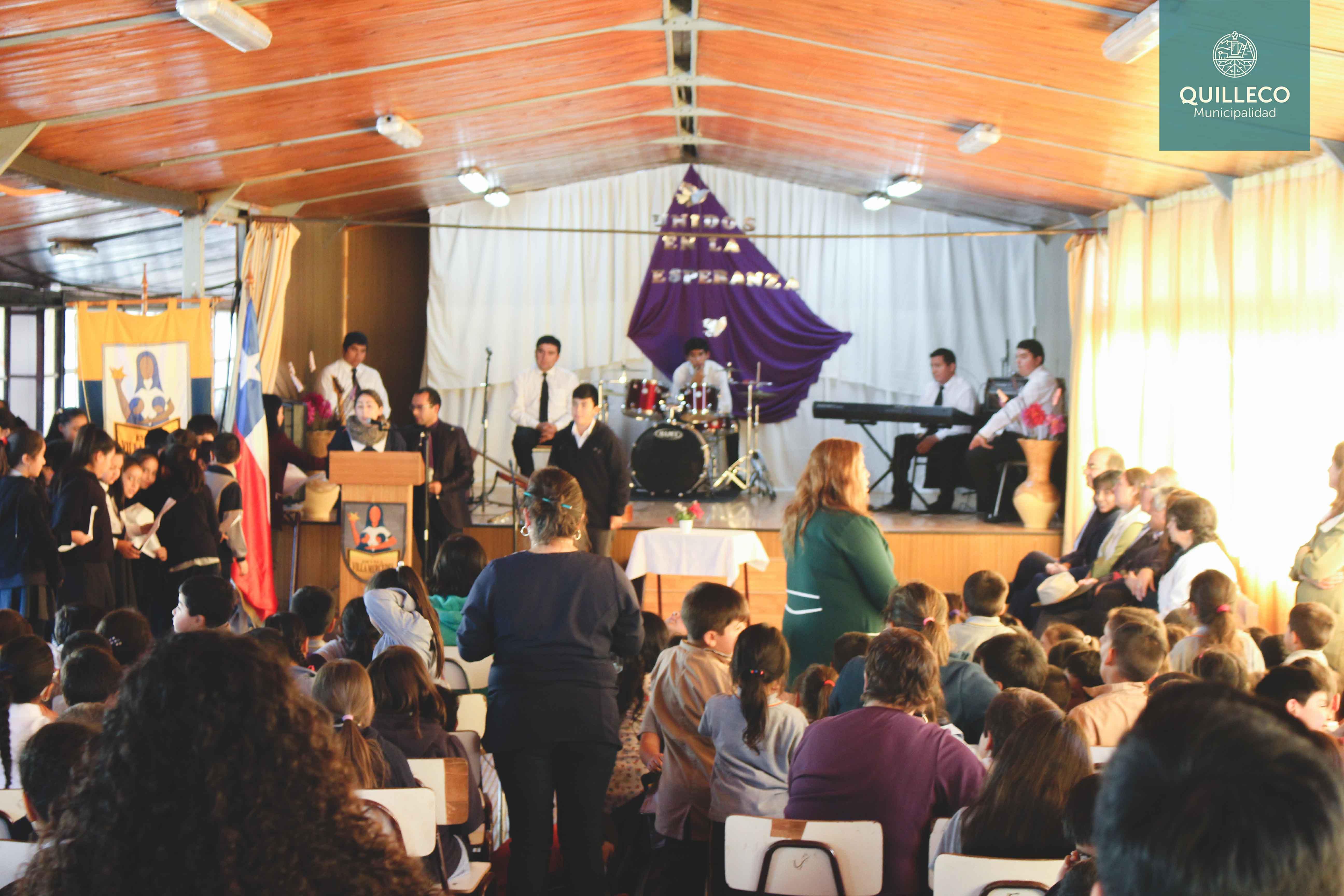 Emotiva ceremonia ecuménica para este inicio de año escolar en la escuela de Villa Mercedes