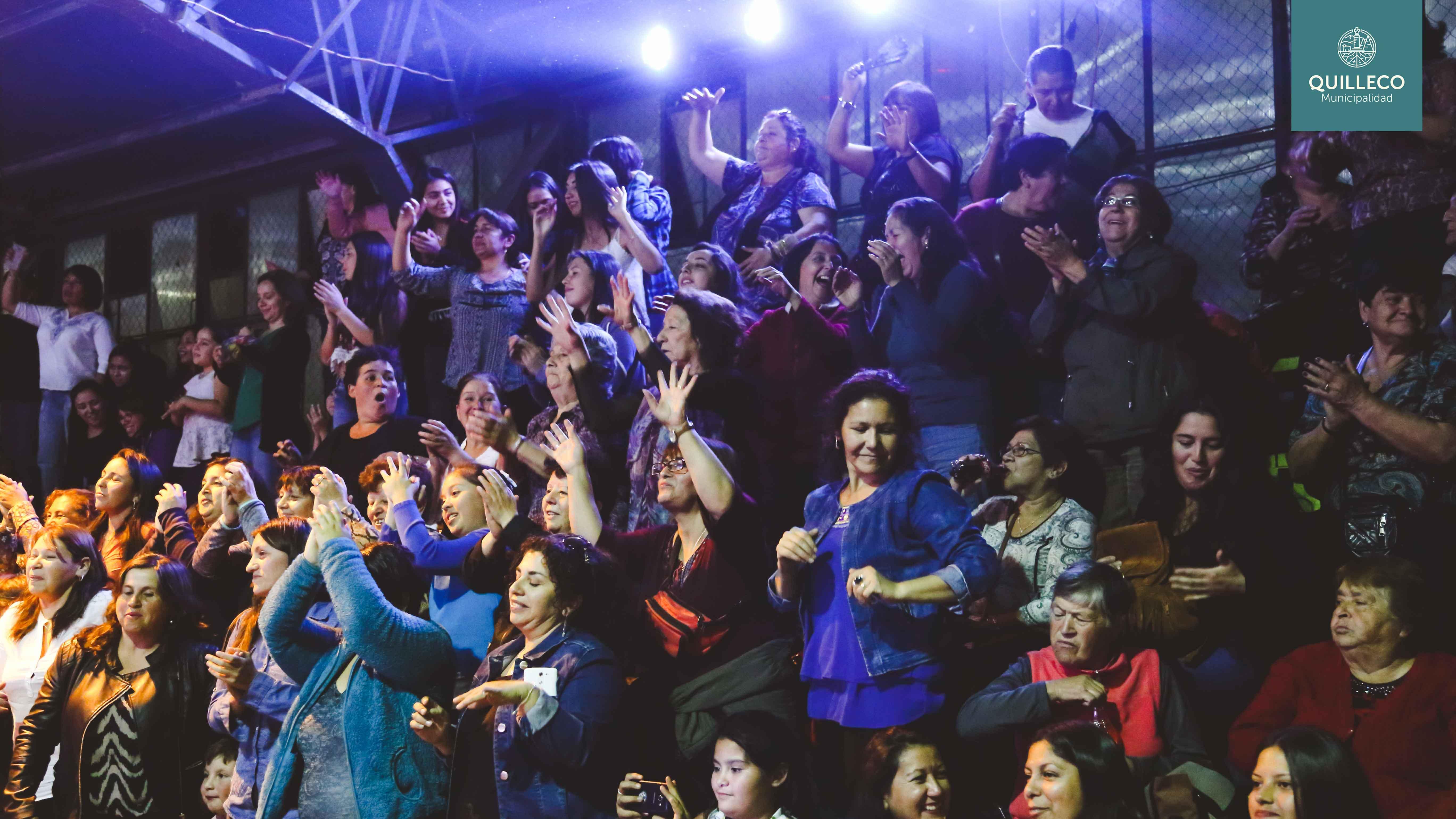Celebración día de la mujer 2017 en la Comuna de Quilleco