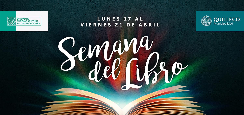 Municipalidad de Quilleco invita a celebrar la semana del libro en nuestra comuna.