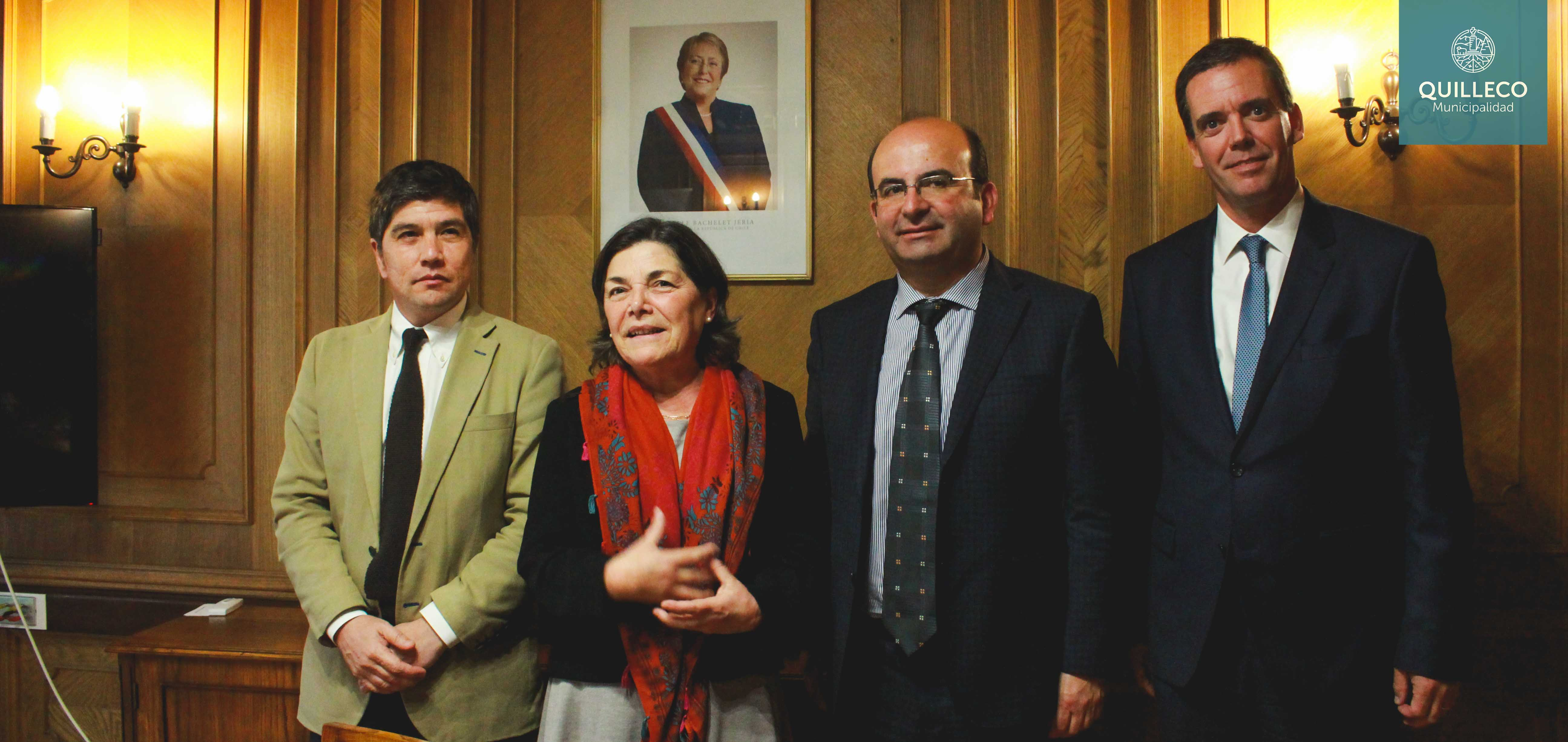 Alcalde Jaime Quilodrán sostuvo exitosa reunión con Ministra Paulina Saball de Vivienda y Urbanismo.