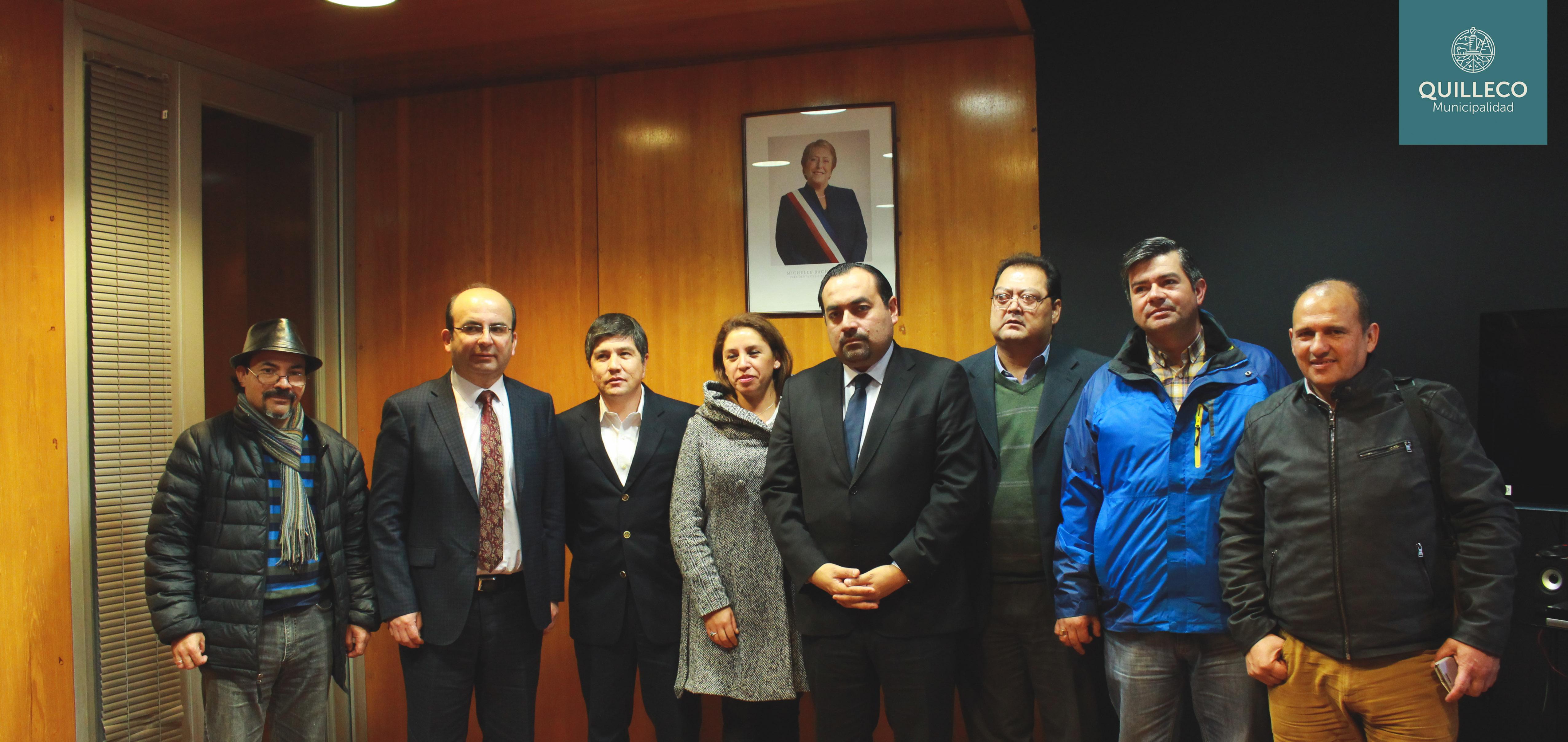 Positiva reunión con Intendente deja en posición privilegia a proyectos clave para el desarrollo comunal.
