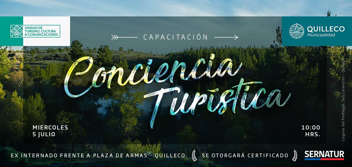 Capacitación en Conciencia Turística de SERNATUR. Comuna de Quilleco