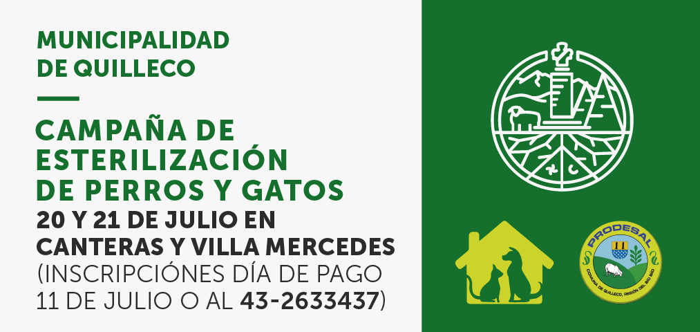 Segunda etapa de campaña de esterilización 2017 en Canteras y Villa Mercedes