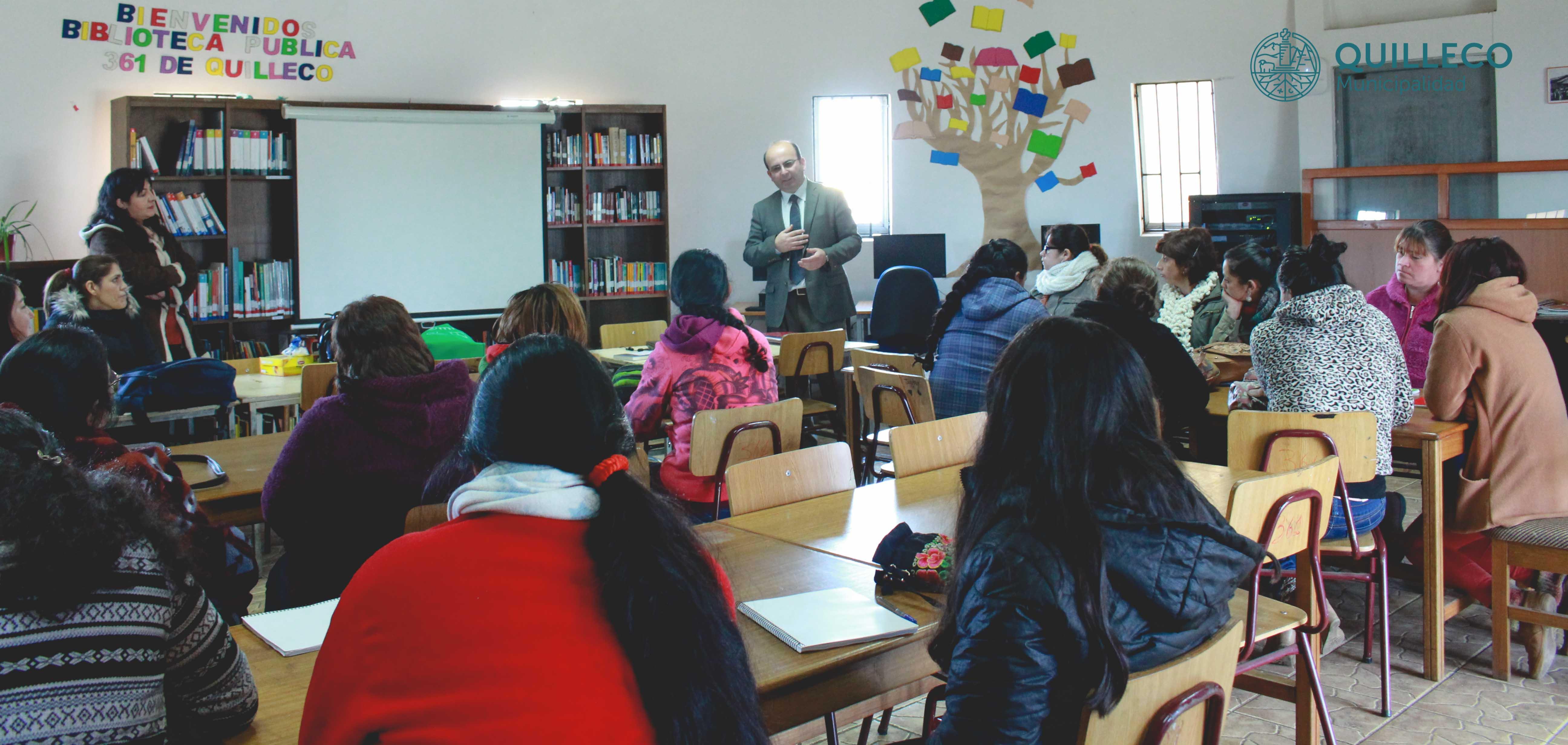 PROFOCAP inició actividades en la Comuna de Quilleco