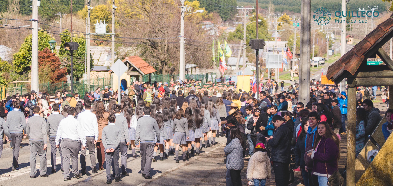 Con gran cantidad de publico se vivió la conmemoración al natalicio 239º del Libertador Bernardo O'Higgins en Las Canteras