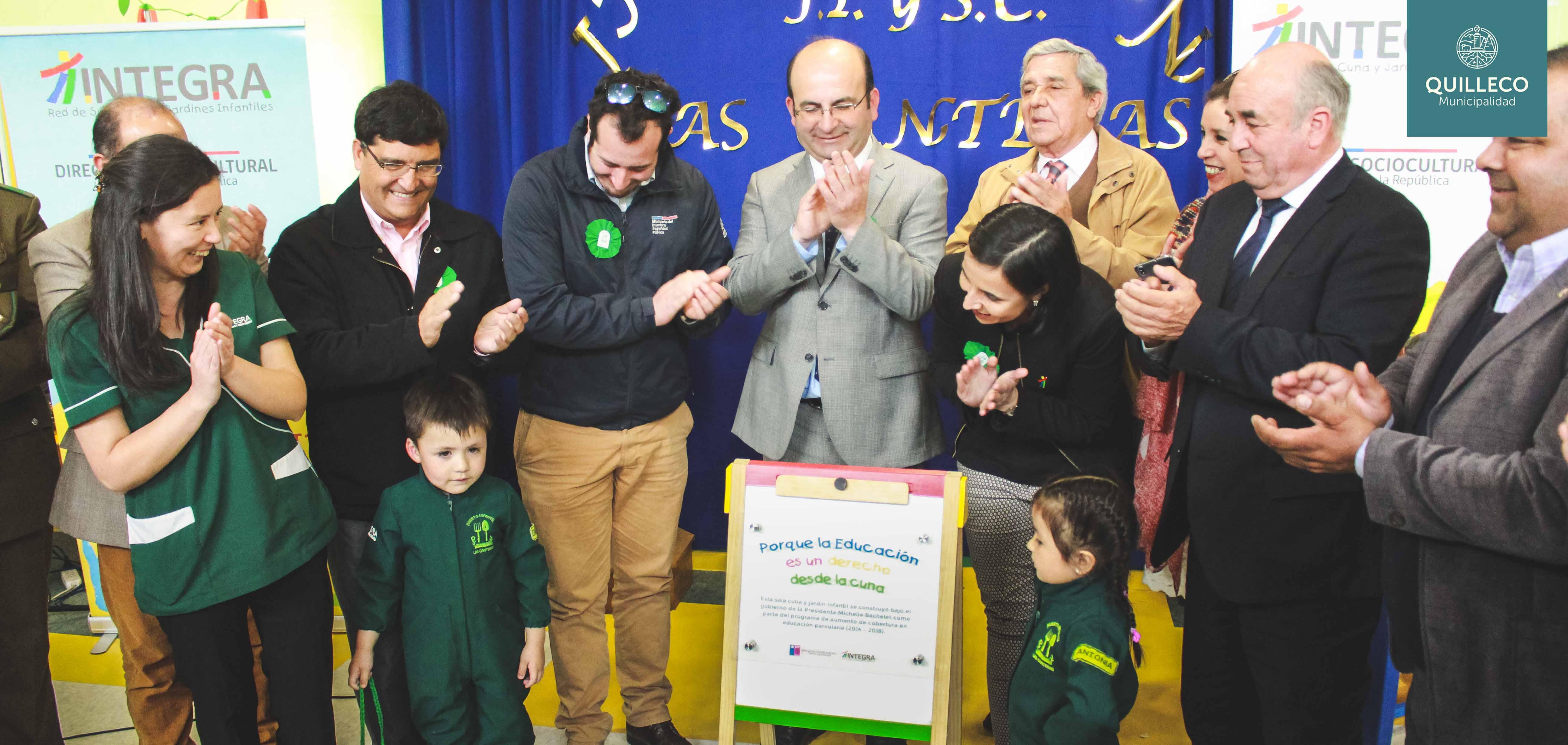 Inauguración del nuevo jardín infantil de INTEGRA en Las Canteras
