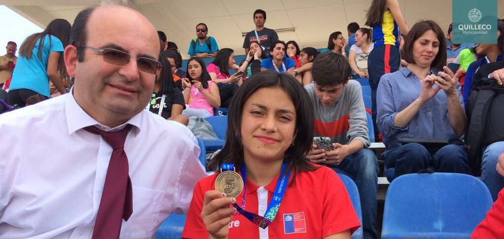Importante 3er lugar obtuvo alumna de nuestra comuna en Campeonato Nacional de Juegos Deportivos Escolares 2017