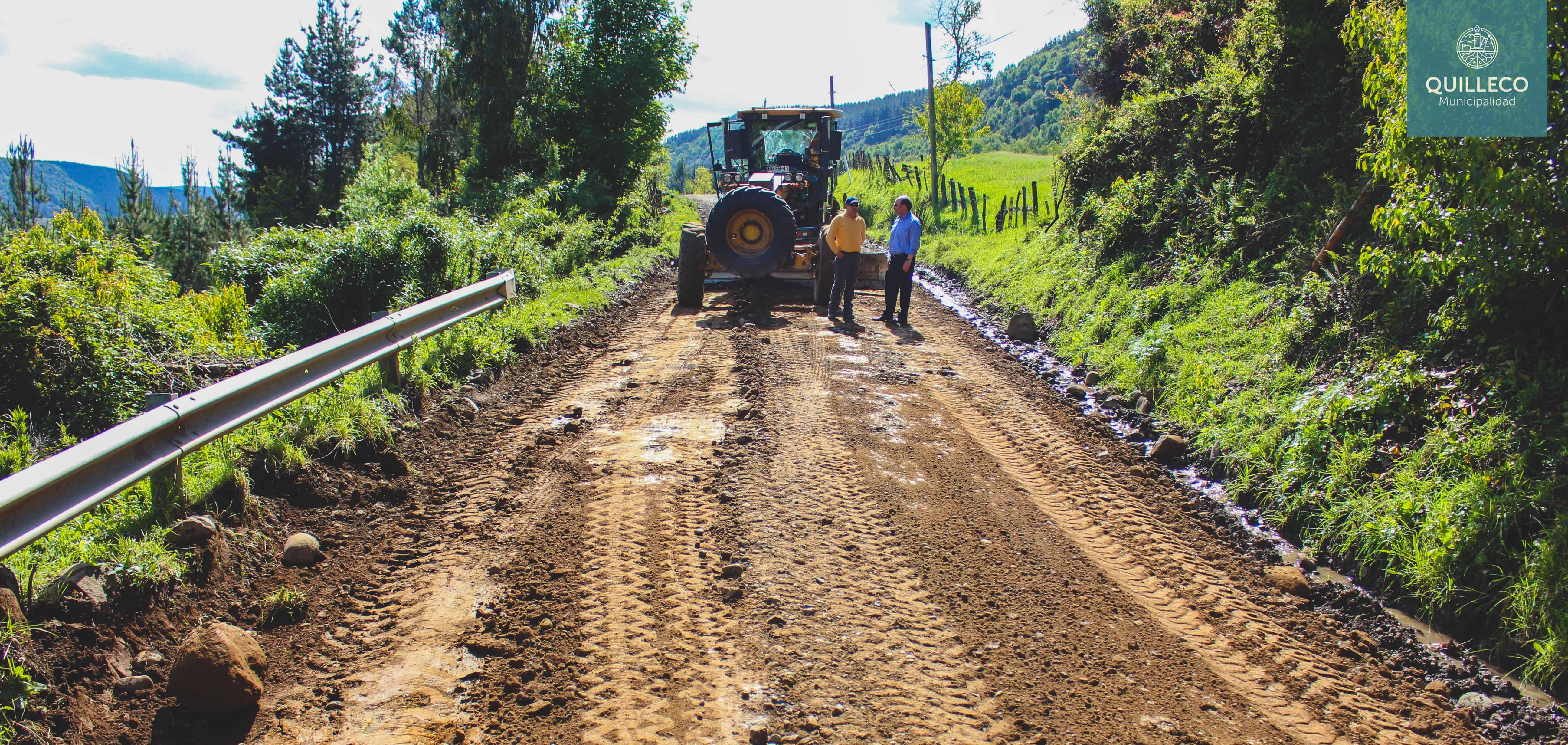 Luego de más de una década se realiza mantención a ruta Cañicura – Salto del Perro