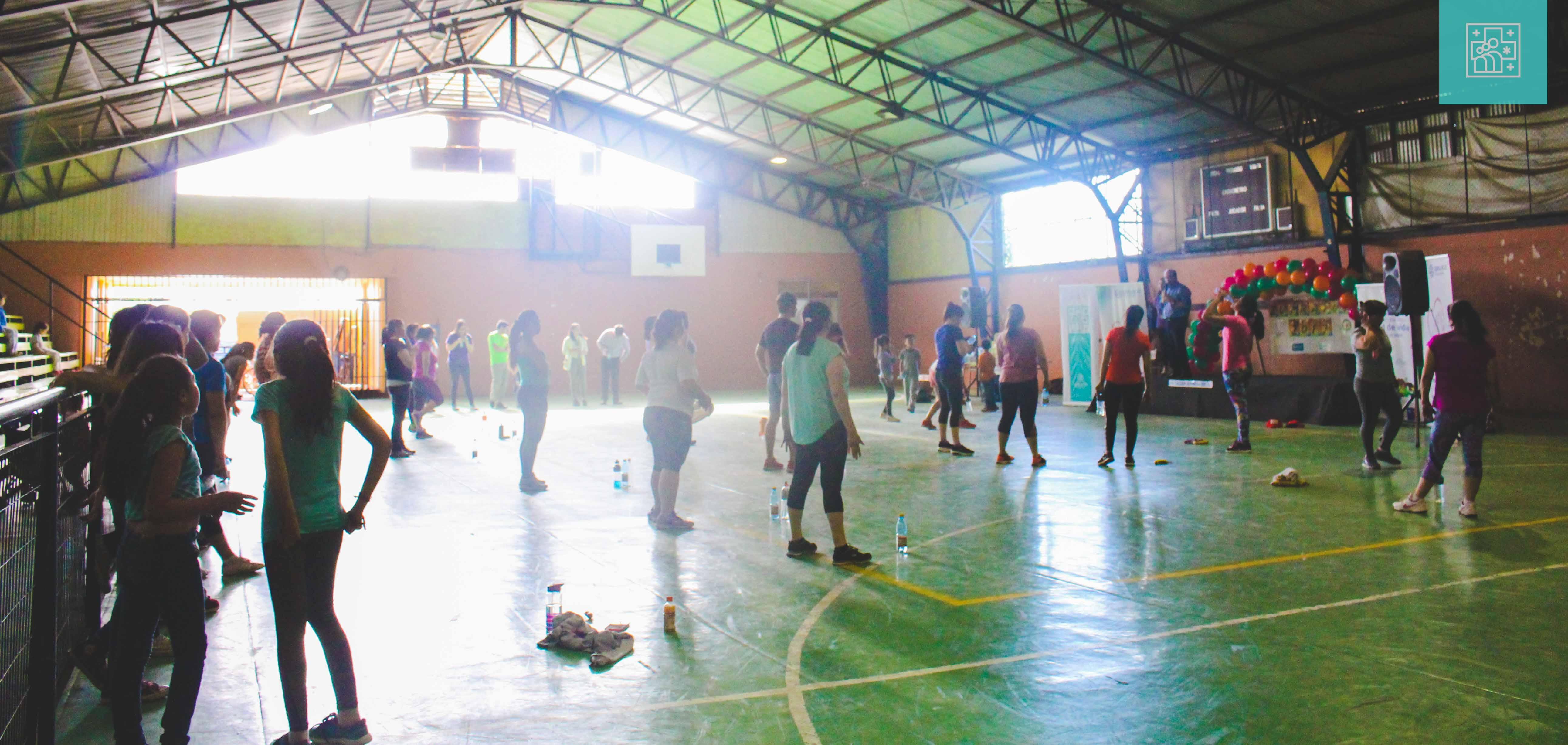 """""""Zumbatón"""" en el marco del día mundial de la diabetes se realizó en Gimnasio Municipal"""