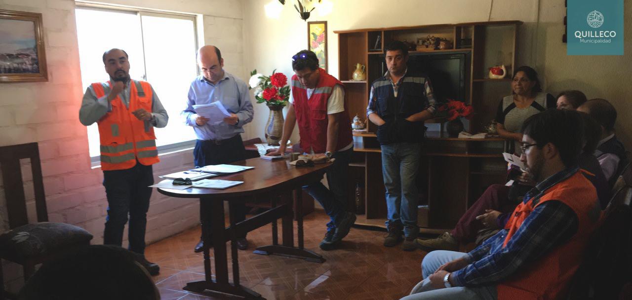 Importante reunión por pavimentación participativa tercer tramo de la ruta Quilleco –  San Lorencito