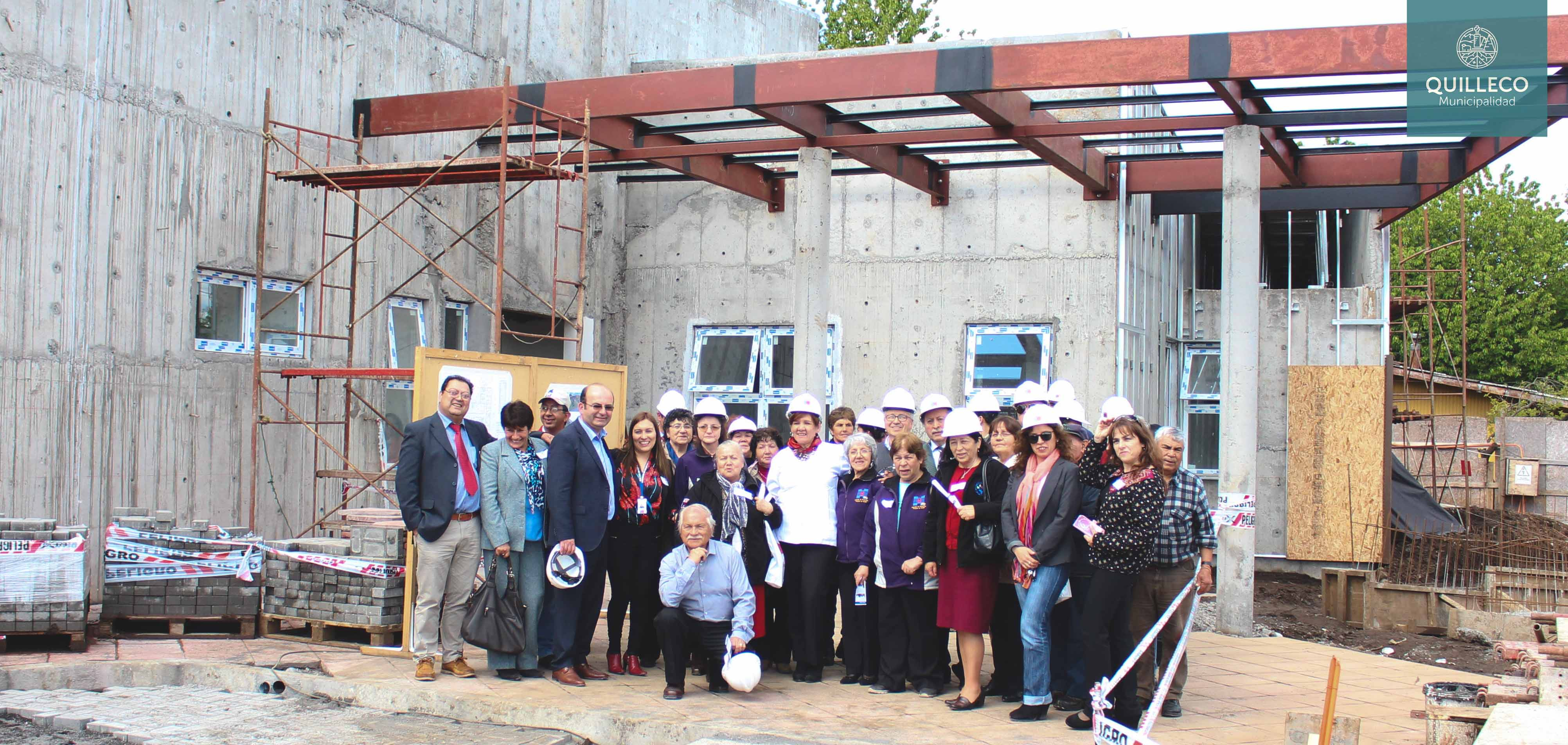Salud Comunal: Mesa Territorial Interconsejos de Desarrollo y recorrido a obra de construcción nuevo CESFAM Quilleco