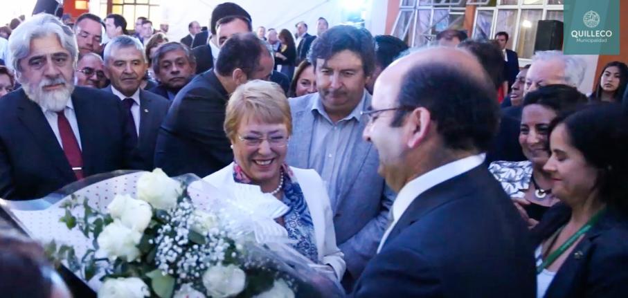 Video resumen de la visita de la Presidenta Michelle Bachelet a Las Canteras