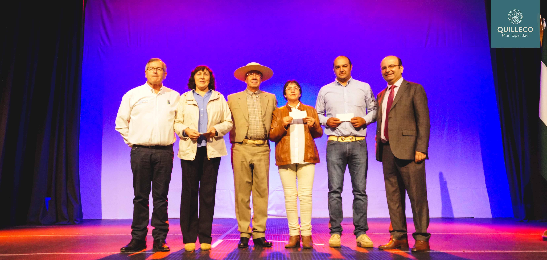 Campesinos de nuestra comuna recibieron importantes incentivos INDAP para proyectos de inversión.