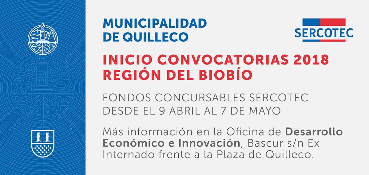 Se dio inicio a la convocatoria para fondos concursables SERCOTEC región del Bio Bío