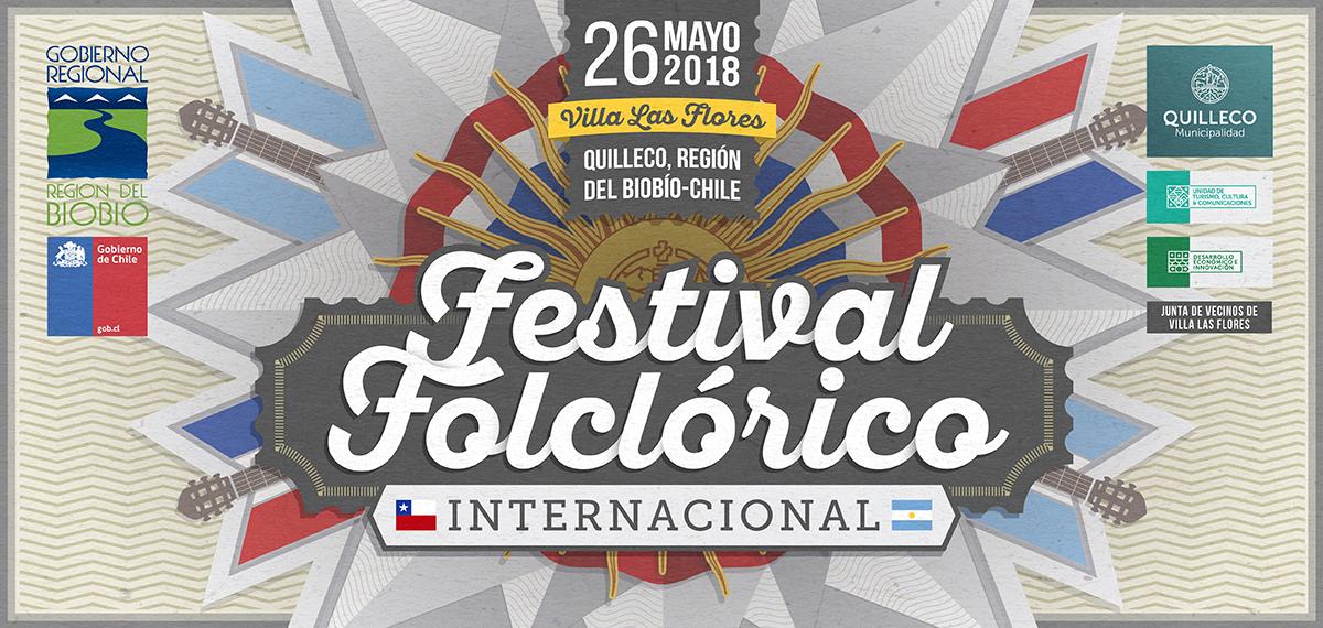 Bases para competencia de canto del 1er FESTIVAL FOLCLÓRICO INTERNACIONAL, Villa Las Flores 2018.
