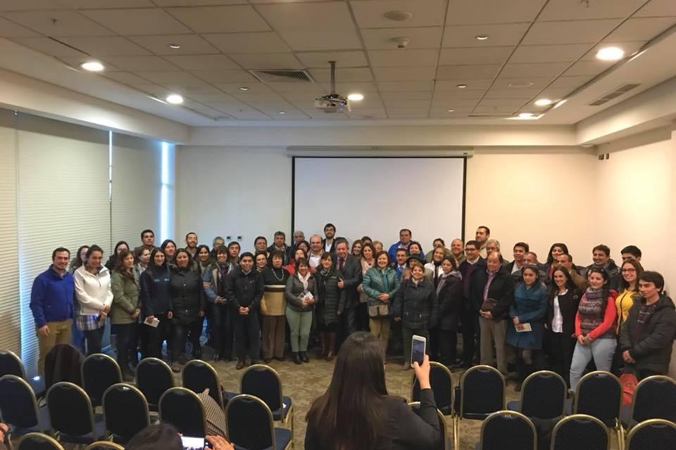 Emprendedores locales en turismo participaron de gran jornada en el Seminario Territorio Bio-Bío Cordillera 2018