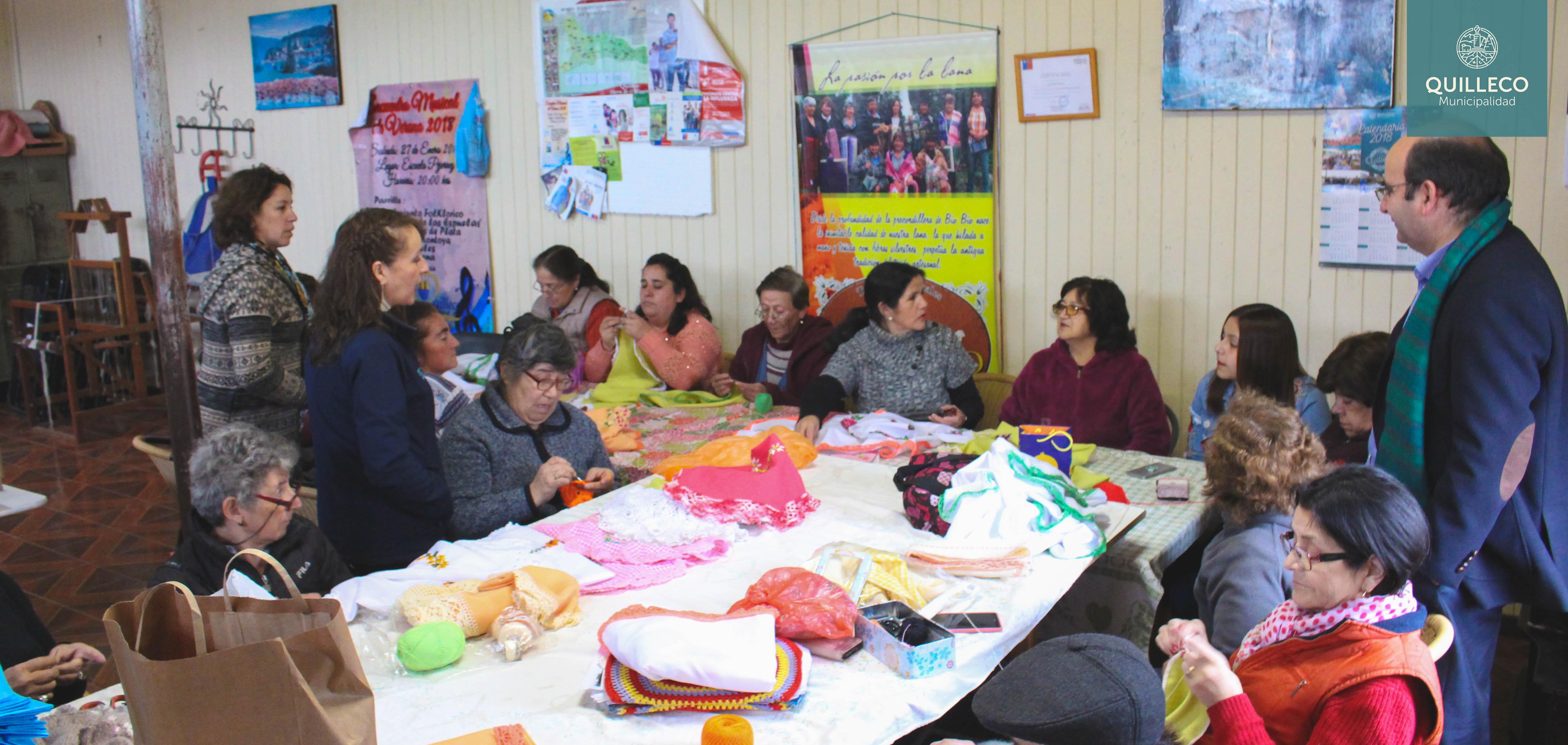 Siguen desarrollándose con éxito los talleres del Programa de la Mujer 2018