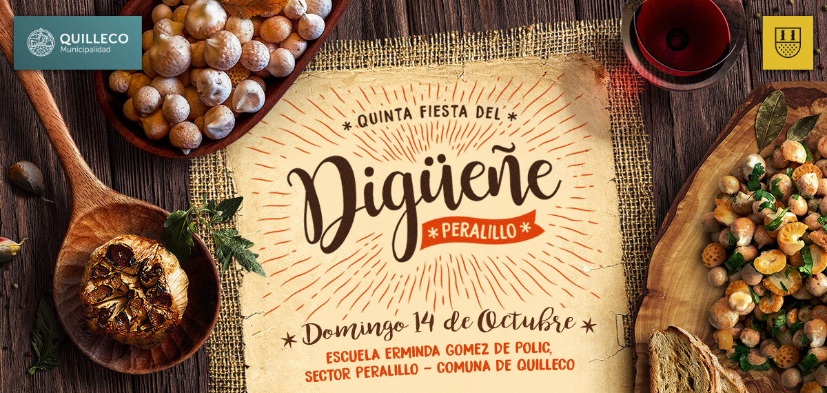 V versión de la gran FIESTA DEL DIGUEÑE 2018 en Peralillo.