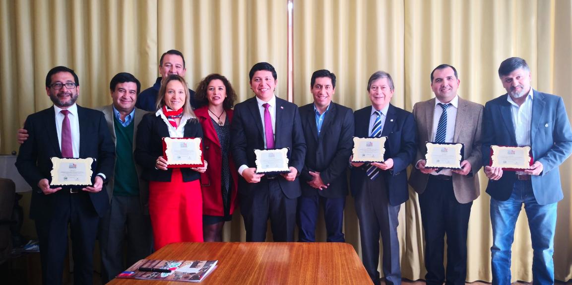 Durante el mes de septiembre se llevó a cabo la firma de convenio internacional entre las comunidades de Quilleco, Antuco, la provincia de Neuquen de la República Argentina, la Gobernación del Biobío y Sernatur BioBío.