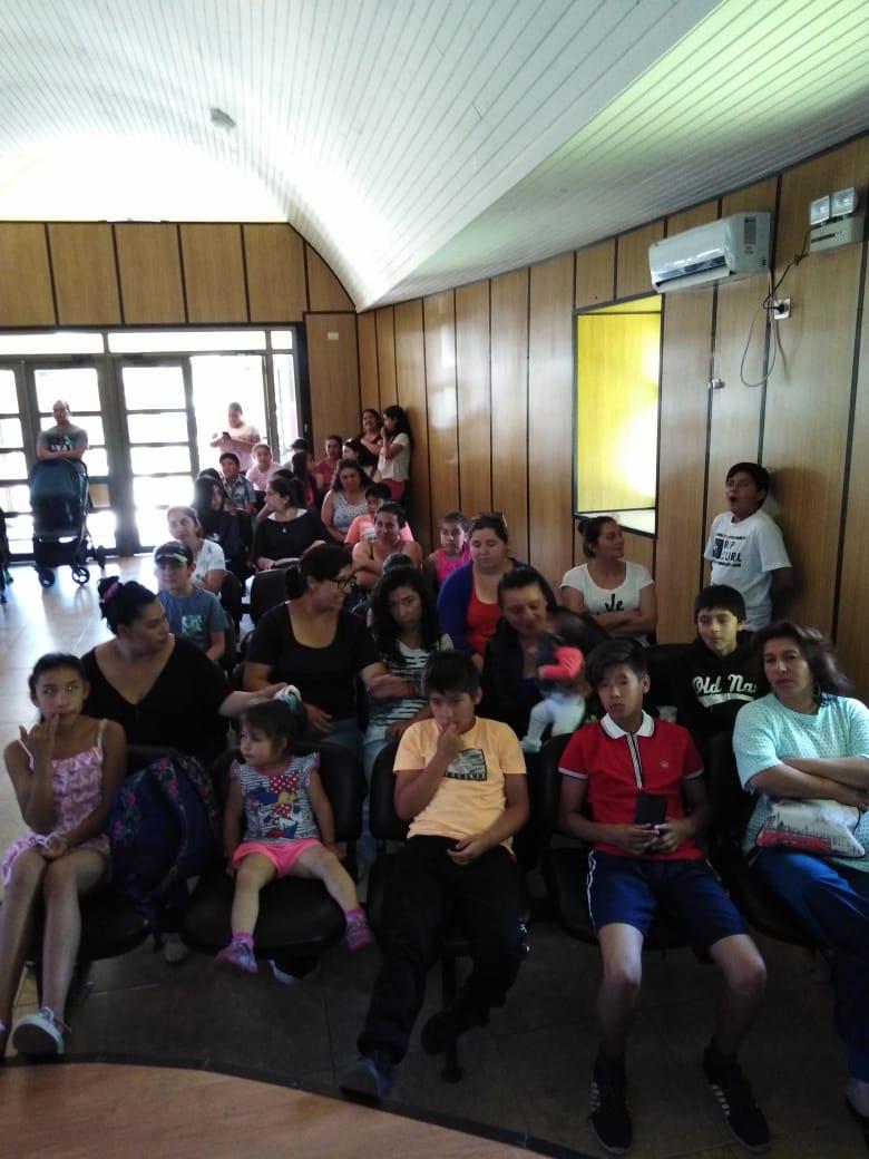 Egis municipal realiza jornada participativa con familias beneficiadas con proyecto habitacional