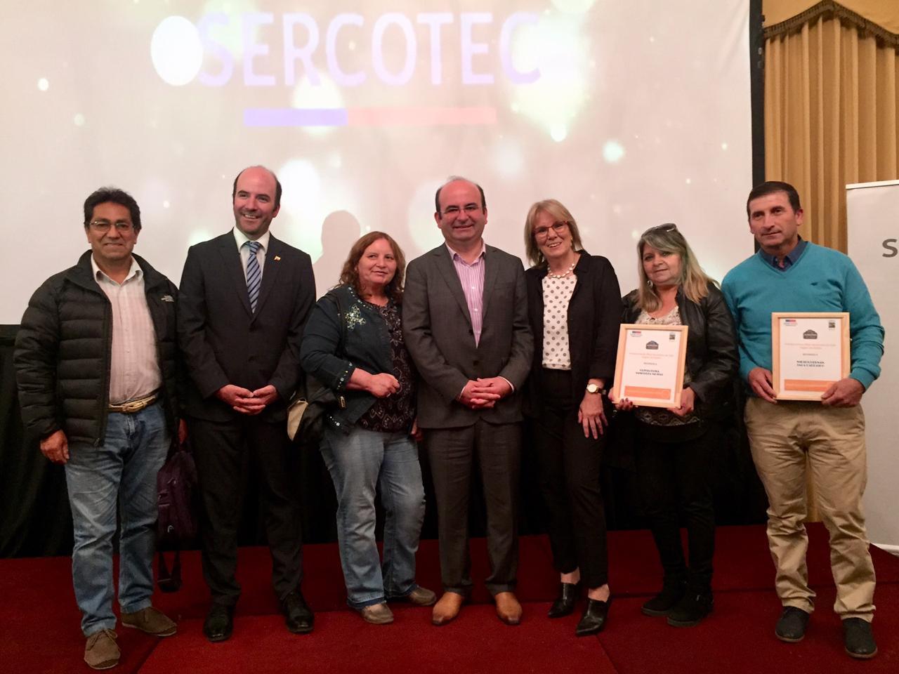 Emprendedores de   Quilleco reciben  importante reconocimiento del Programa Almacenes de Sercotec