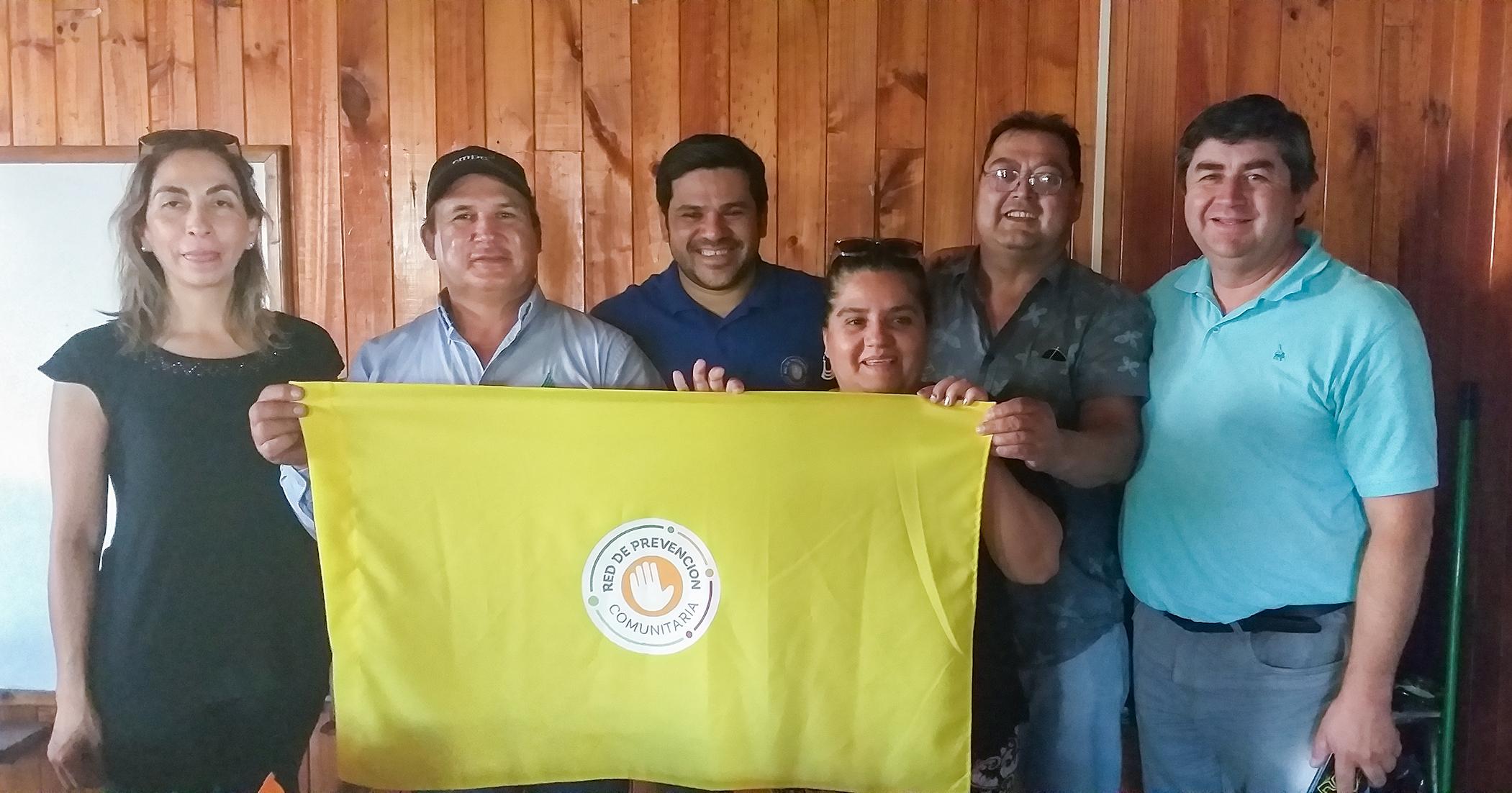Municipio  realiza fuerte trabajo de prevención  de los incendios forestales con la Junta de Vecinos de la  Población San Lorencito
