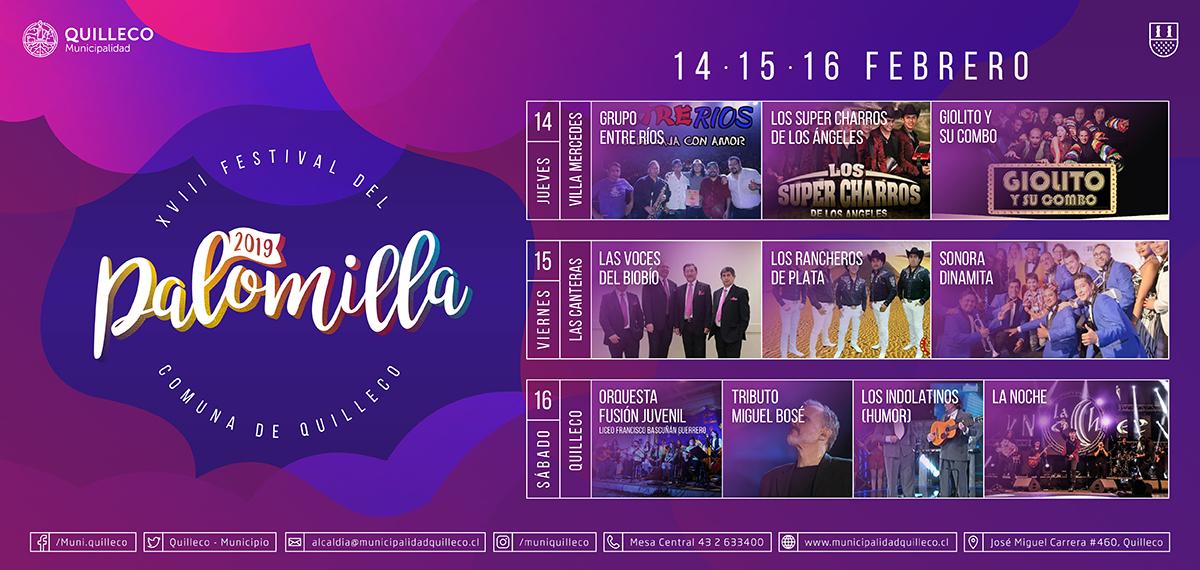 XVIII FESTIVAL PALOMILLA 2019