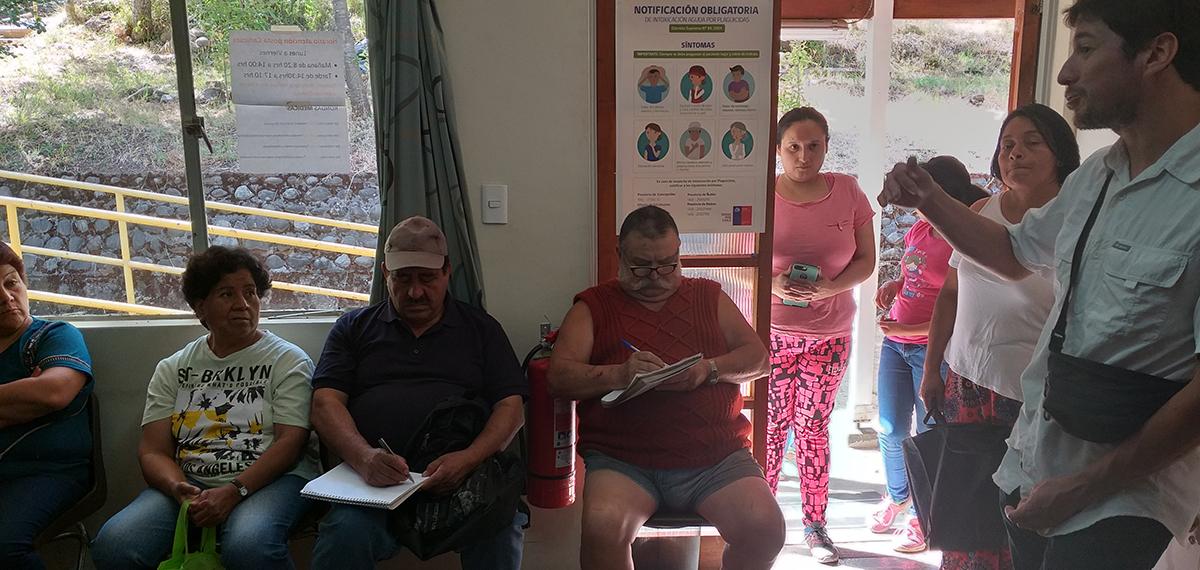 """Vecinos de Cañicura se informan sobre Nueva Ley de Tenencia Responsable de Animales """"Ley Cholito"""""""