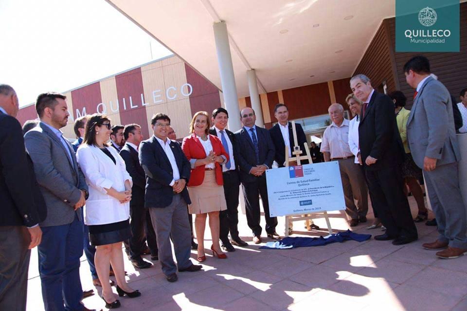 Día Histórico se inauguró  oficialmente el Centro de Salud Familiar de Quilleco