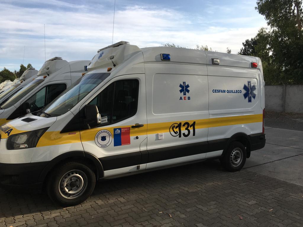 Quilleco recibirá 2 nuevas ambulancias que beneficiaran a miles de habitantes de los sectores urbanos y rurales