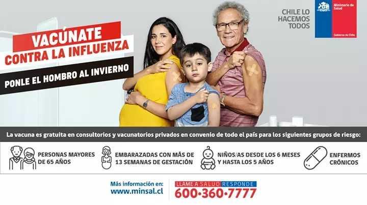 Centros de Salud Familiar de Quilleco y Canteras refuerzan la Campaña Influenza  2019