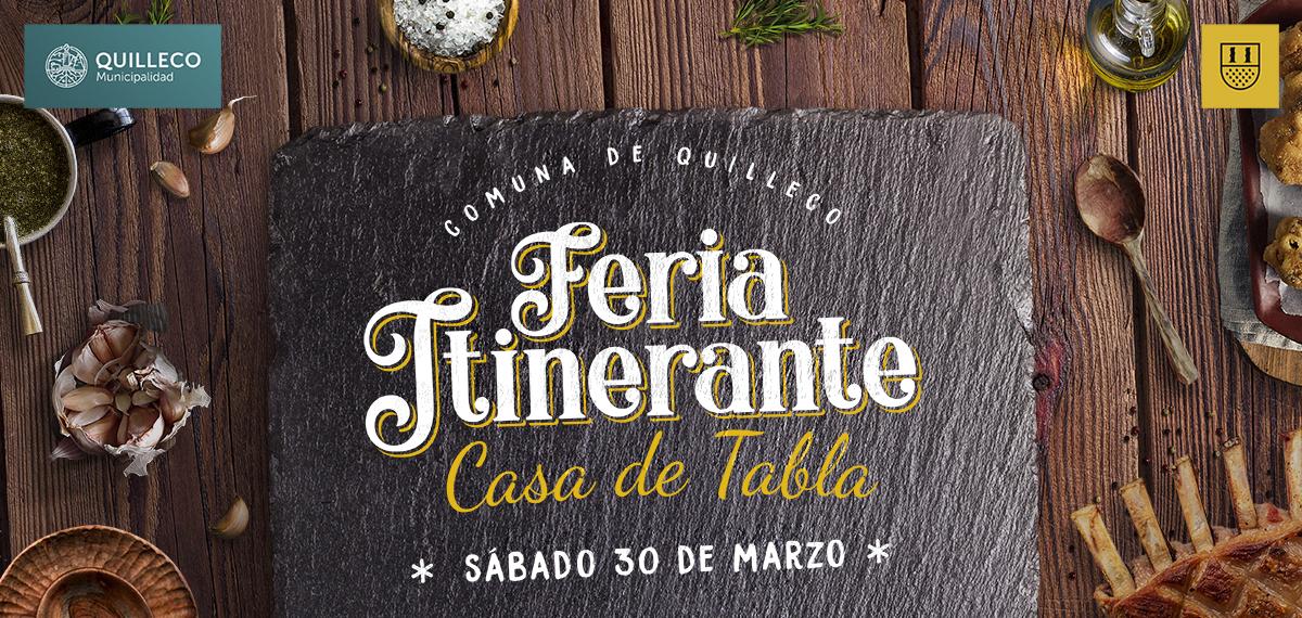 Feria Itinerante Casa de Tabla