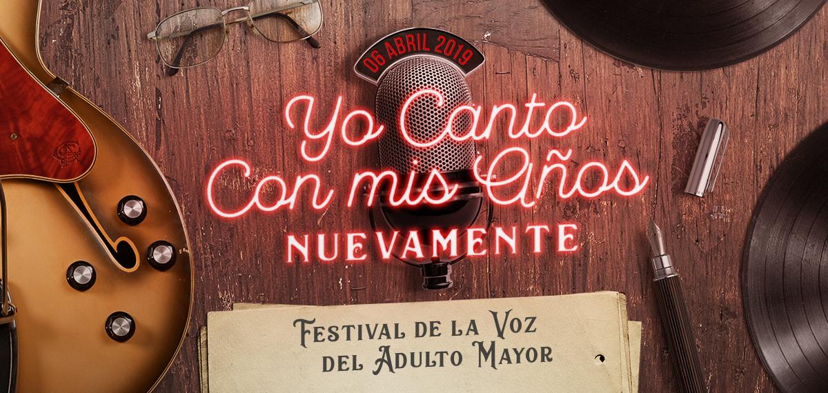 """Festival del Adulto Mayor de Villa Mercedes """"Yo canto con mis años Nuevamente"""""""