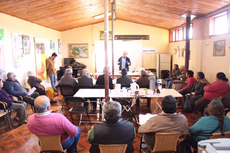 Reuniones  técnicas de Prodesal capacitan a los usuarios del Sector de Pejerrey Bajo Duqueco
