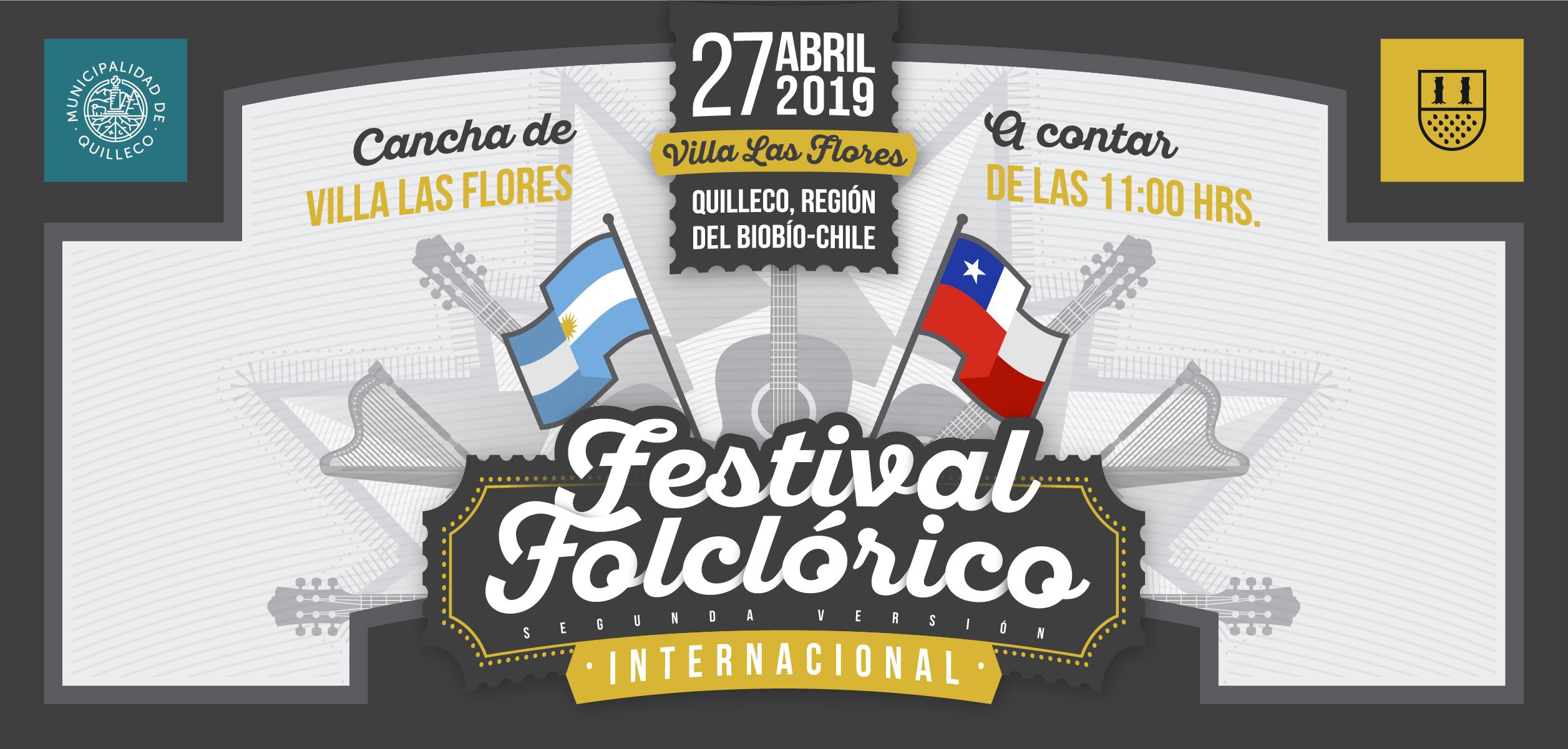 2 Versión del Festival Folclórico Internacional de  Villa Las Flores