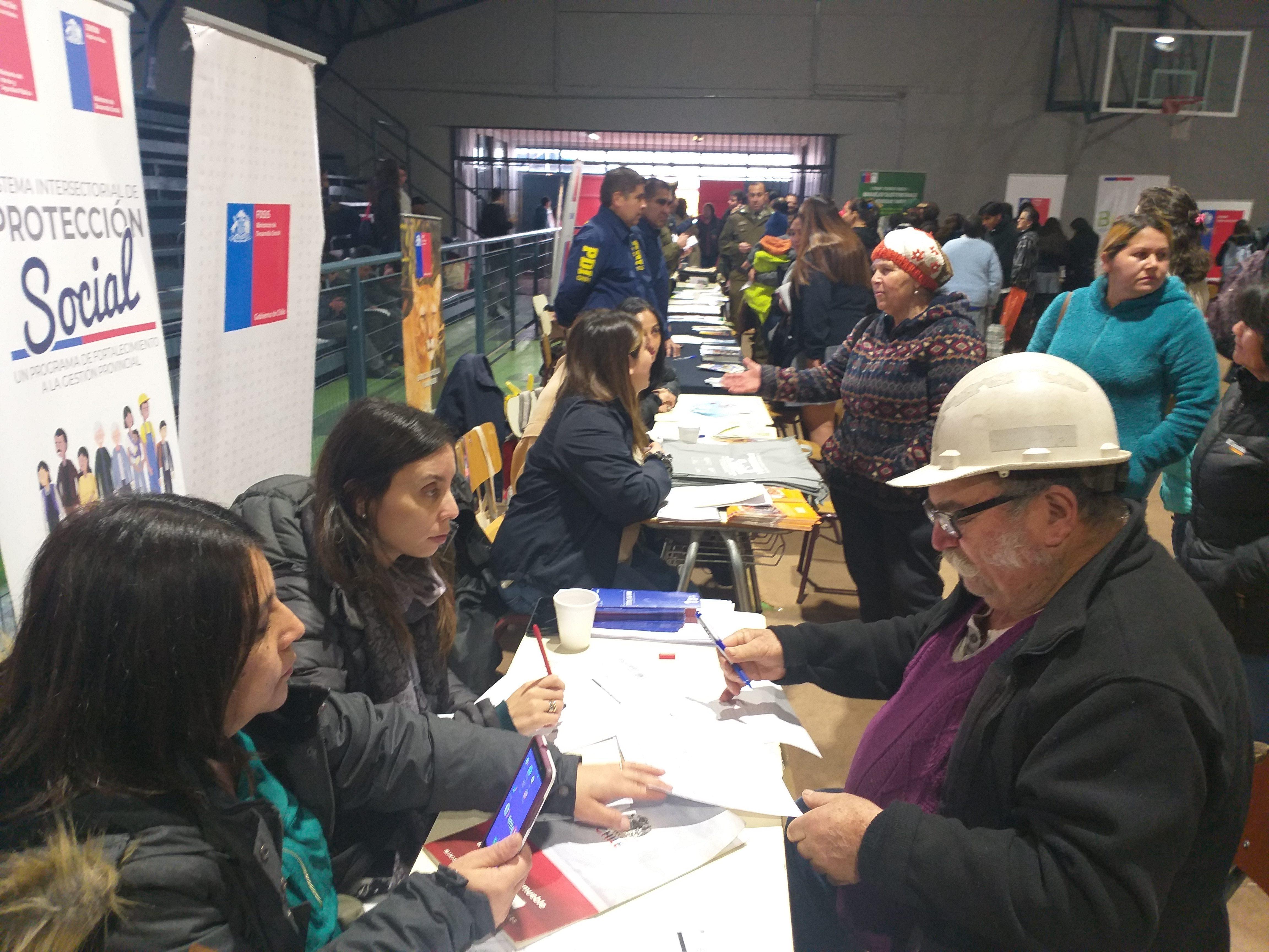 Masiva asistencia al primer Gobierno en Terreno 2019 en la comuna de Quilleco