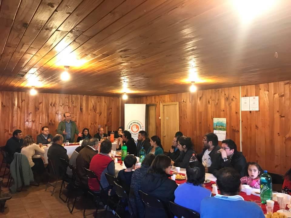 Vecinos de la Población San Lorencito realizan actividad entorno a la Prevención  con diferentes entes sociales de la comuna