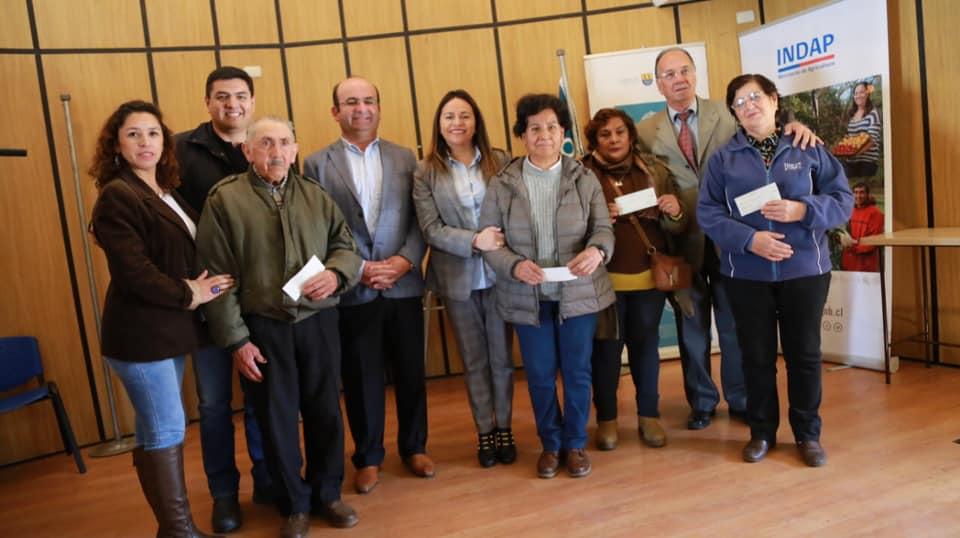 Usuarios del Programa Prodesal de Quilleco reciben aporte financiero de Indap por más de 30.400.000 pesos