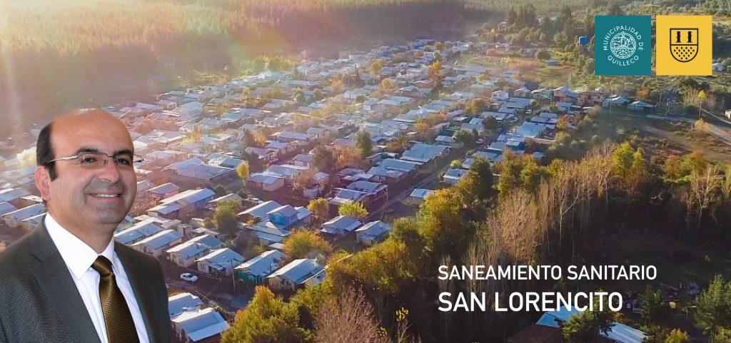 SANEAMIENTO SANITARIO SAN LORENCITO ALCALDE 2020-05-05