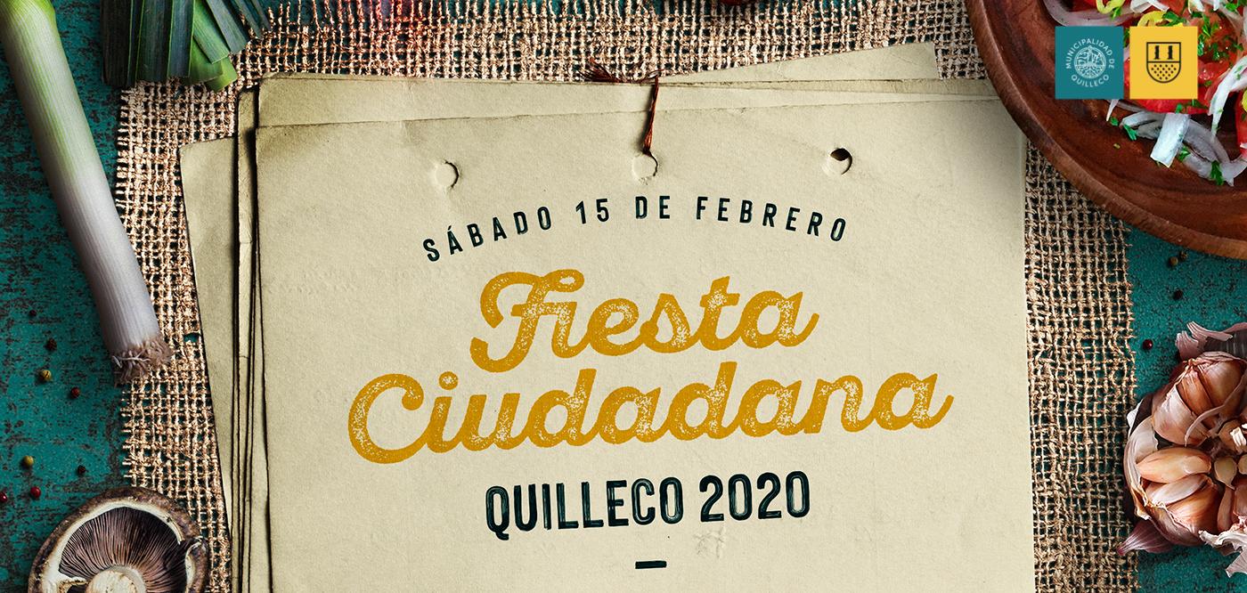 """TODOS INVITADOS A SER PARTE DE LA """"FIESTA CIUDADANA"""" – QUILLECO 2020"""