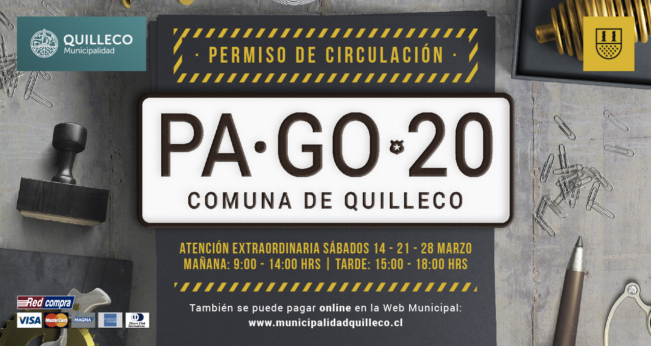 PAGO PERMISO DE CIRCULACIÓN 2020 EN TU MUNICIPIO.