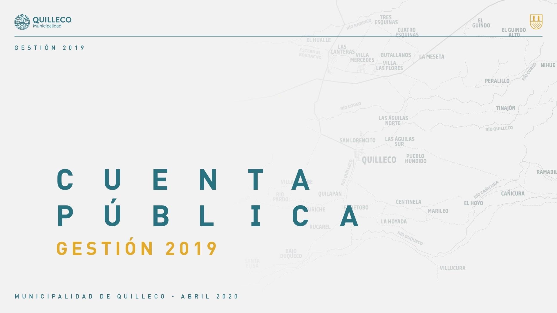 Vídeo Cuenta Publica Gestión Año 2019