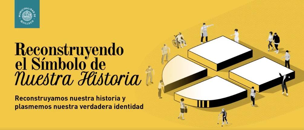 RECONSTRUYENDO EL SÍMBOLO DE NUESTRA COMUNA SE PARTE DE ESTA INICIATIVA.