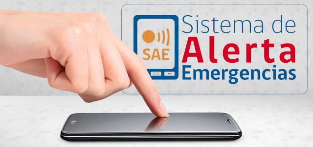 Conoce más sobre el Sistema de Alerta de Emergencias (SAE)
