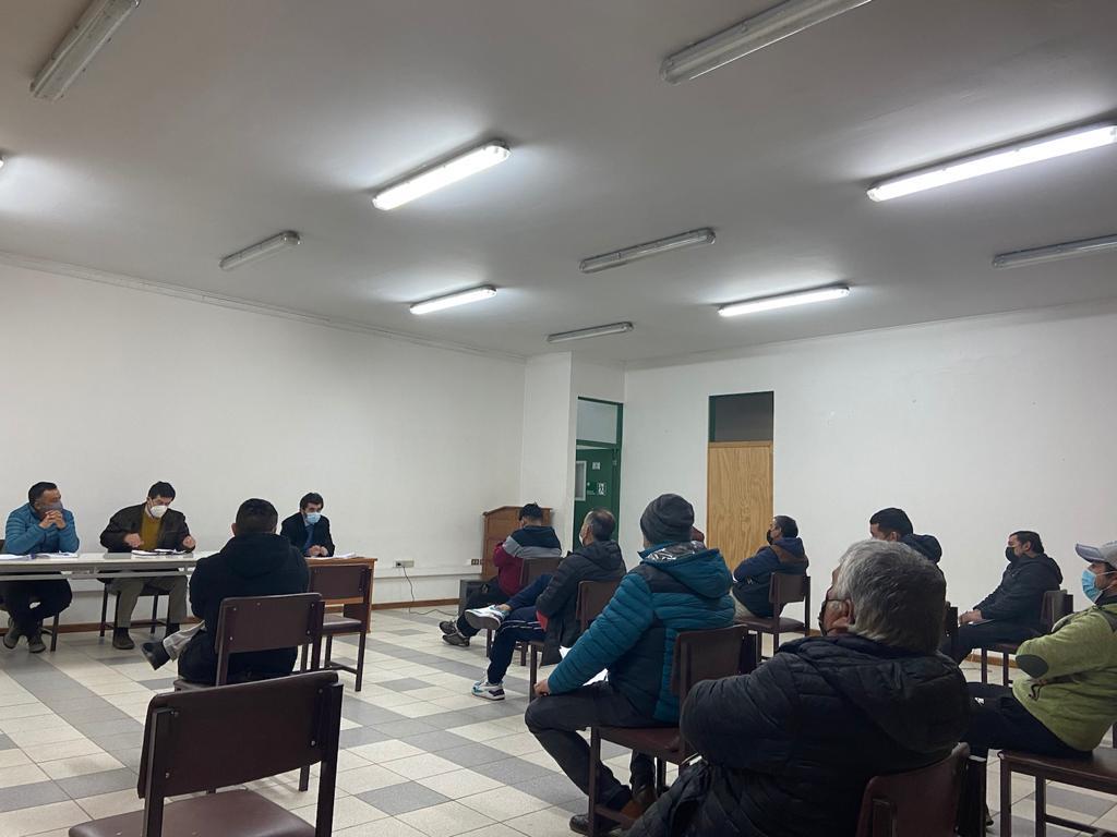 Reunión de coordinación con la unión comunal de fútbol busca reanudar el deporte en Quilleco